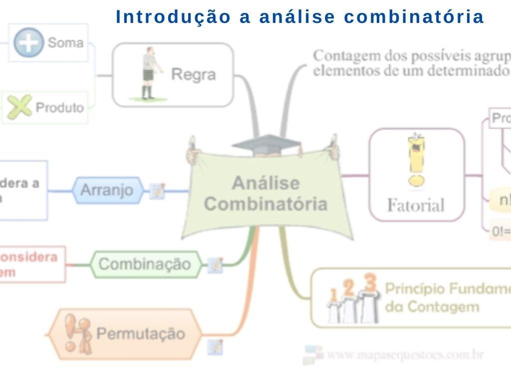 Introdução a análise Combinatória