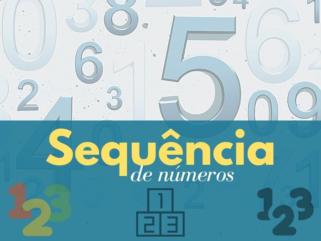 Sequência de números