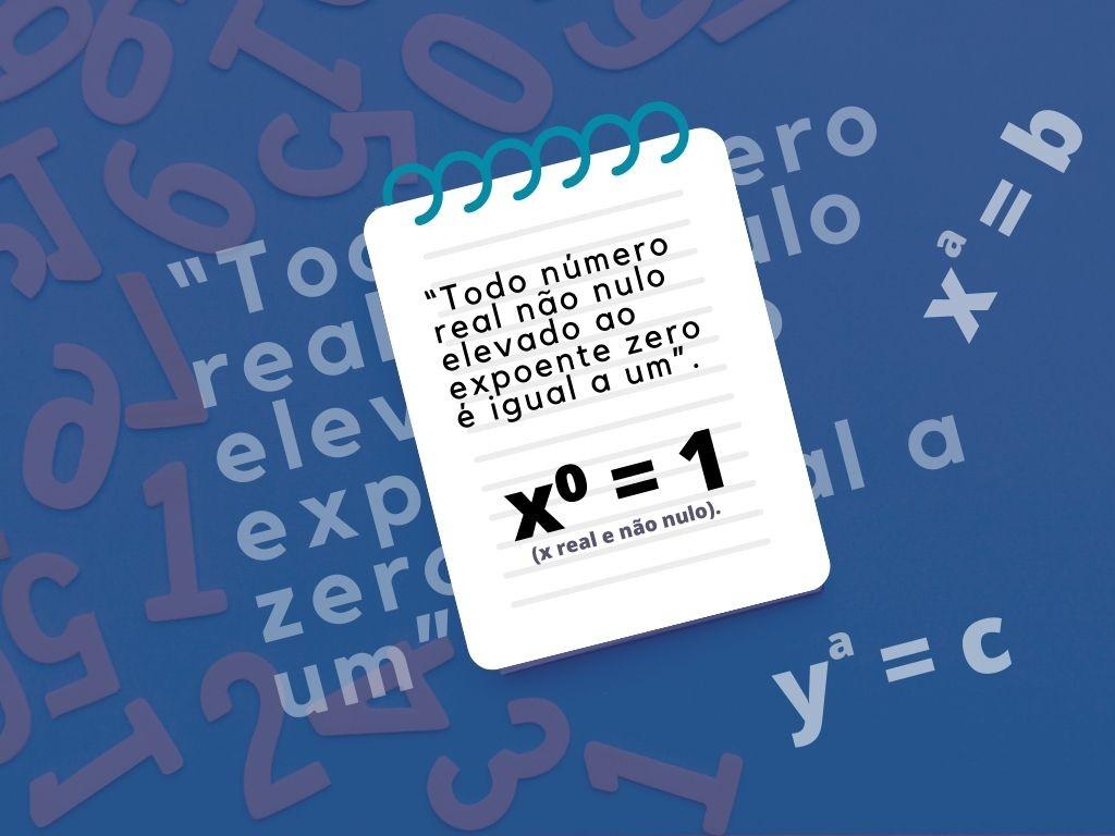Todo número elevado zero é igual a um?